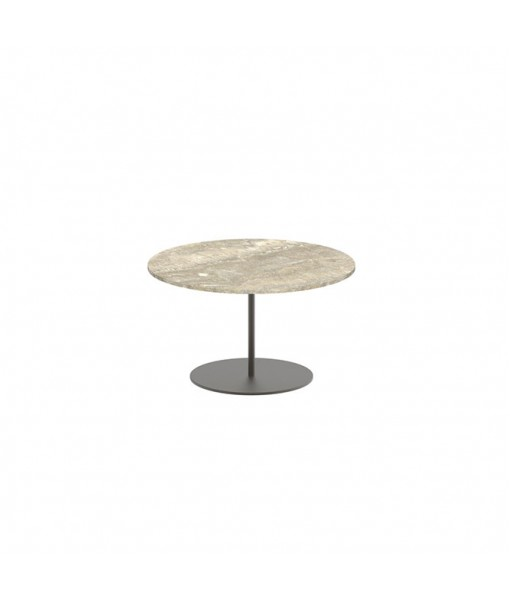 BUTLER SIDE TABLE 60CM ROUND BRONZE ...