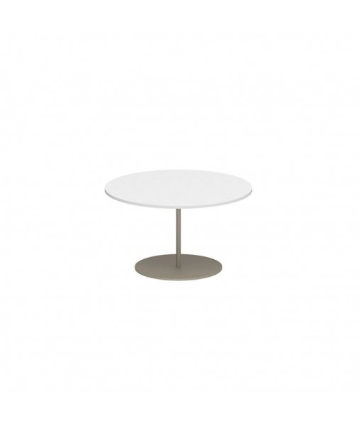 BUTLER SIDE TABLE 60CM ROUND SAND ...