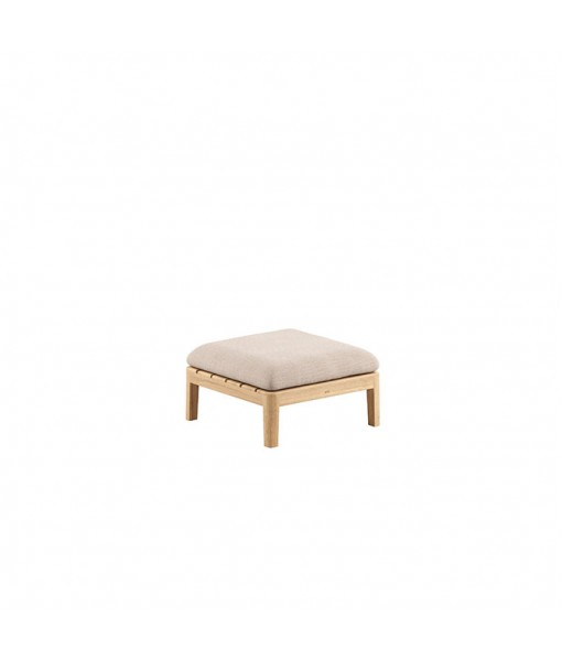CALYPSO LOUNGE TABLE WITH TEAK TABLETOP