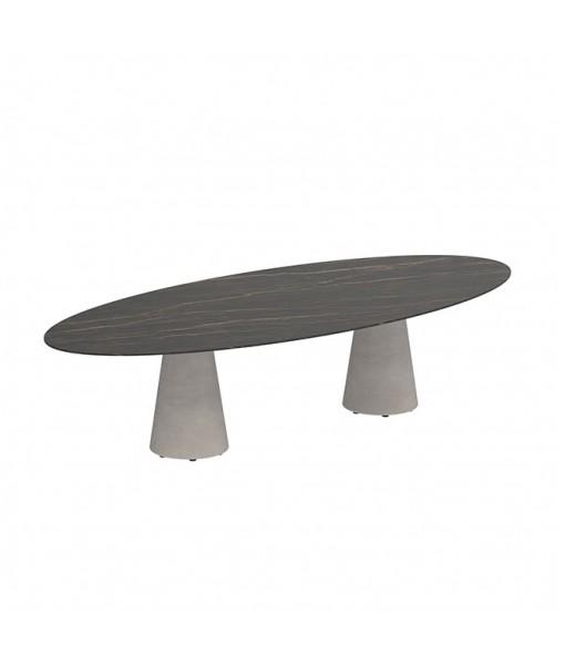 CONIX OVAL TABLE 320X140CM CERAMIC TABLETOP ...