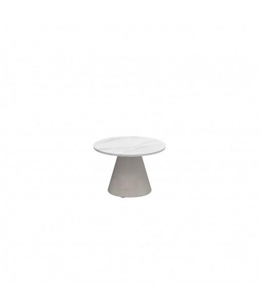 CONIX SIDE TABLE 40CM ROUND CERAMIC ...