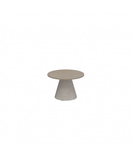 CONIX SIDE TABLE 40CM ROUND STONE ...