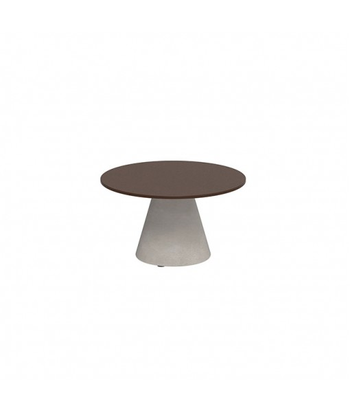 CONIX SIDE TABLE 60CM ROUND STONE ...