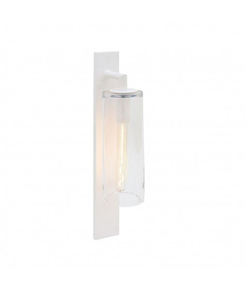 DOME WALL LAMP WHITE CLEAR