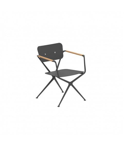 EXES ARM CHAIR ALU ANTHRACITE