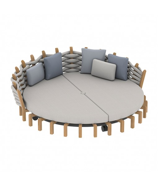 LOTUS DAYBED 240CM ROUND