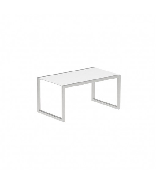 NINIX TABLE 150X90CM WITH STAINLESS STEEL ...