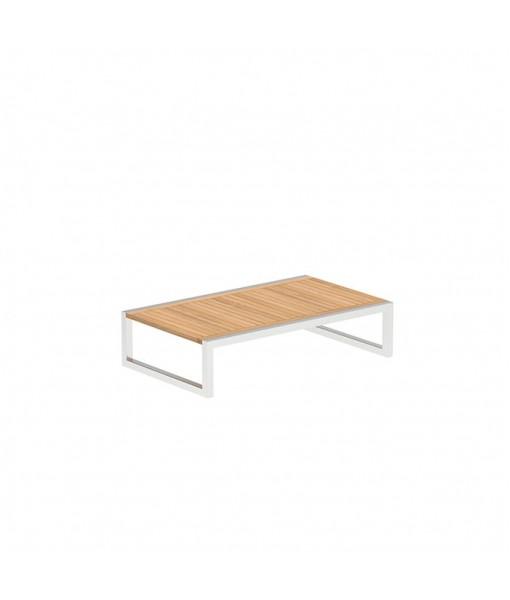 NINIX SIDE TABLE 150X90CM WITH INOX ...