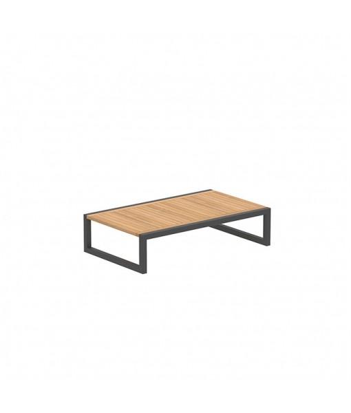 NINIX SIDE TABLE 150X90CM BLACK AND ...