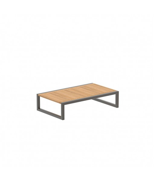 NINIX SIDE TABLE 150X90CM BRONZE AND ...