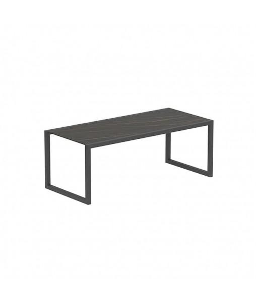 NINIX TABLE 200X90CM FRAME ANTHRACITE + ...