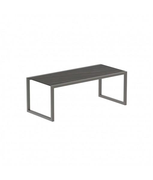 NINIX TABLE 200X90CM FRAME BRONZE + ...