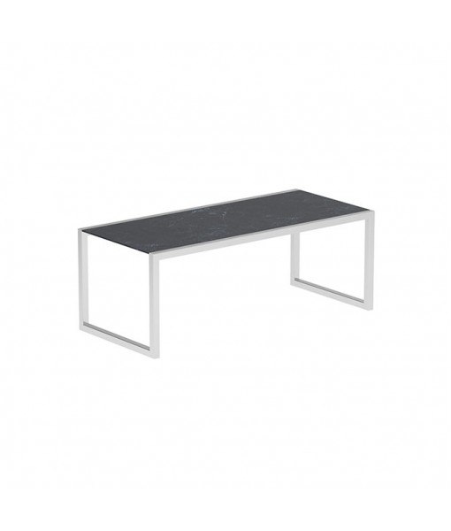 NINIX TABLE 200X90 WITH STAINLESS STEEL ...