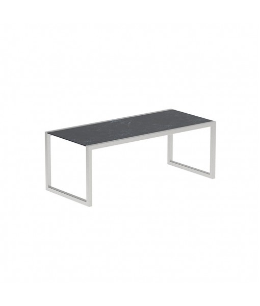 NINIX TABLE 200X90CM WITH STAINLESS STEEL ...