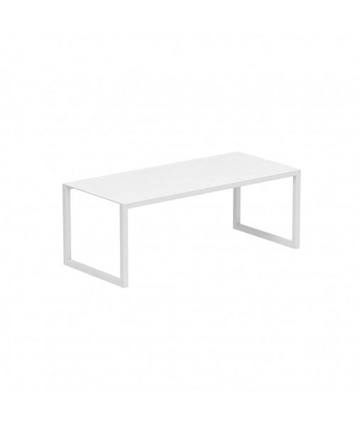 NINIX TABLE 200X90CM FRAME + GLASS ...