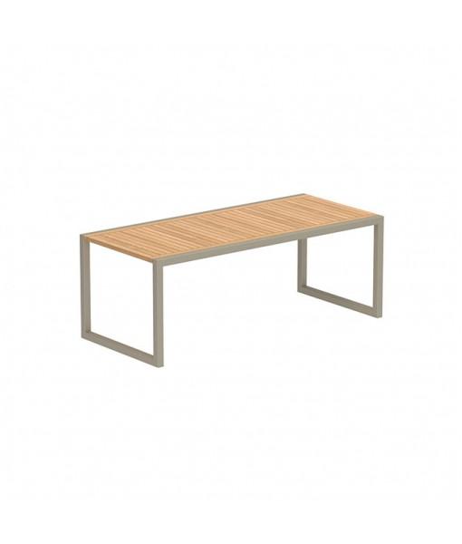 NINIX TABLE 200X90CM SAND FRAME AND ...