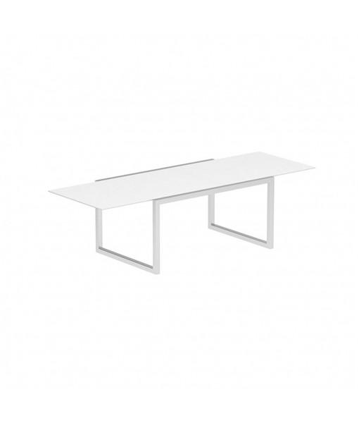 NINIX EXTENDABLE TABLE 100X150/270 WHITE CERAMIC ...