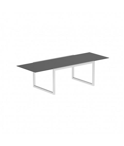 NINIX EXTENDABLE TABLE 100X150/270 BLACK CERAMIC ...