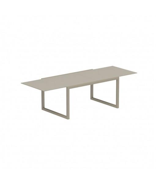 NINIX EXTENDABLE TABLE 100X150/270 FRAME SAND ...