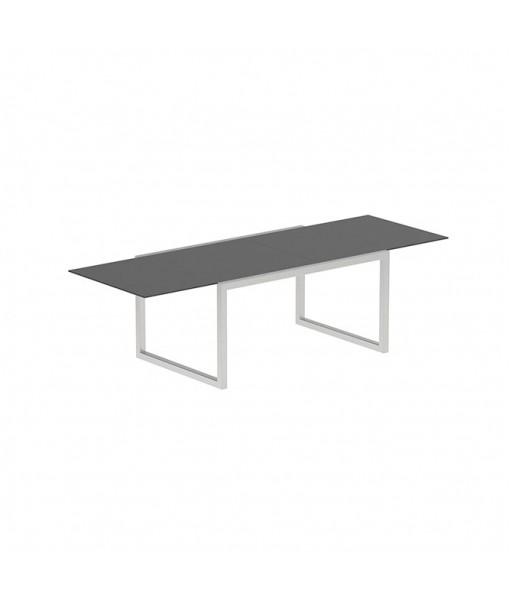 NINIX EXTENDABLE TABLE 100X150/270 BLACK CERAMIC