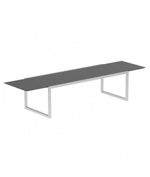 NINIX EXTENDABLE TABLE 100X240/360 CERAMIC BLACK