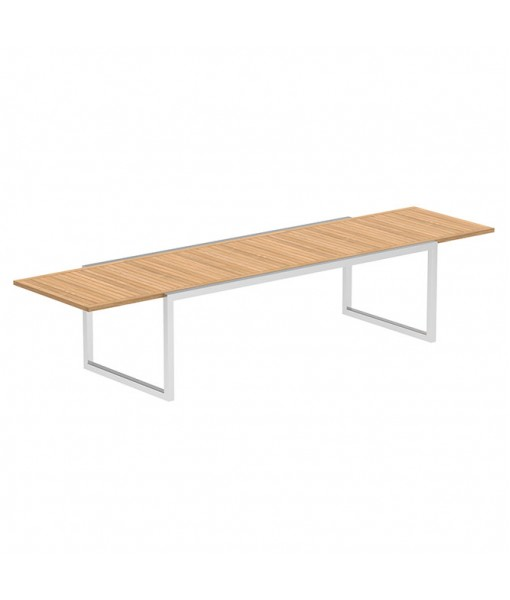 NINIX EXTENDABLE TABLE 100X240/360 WITH STAINLESS ...