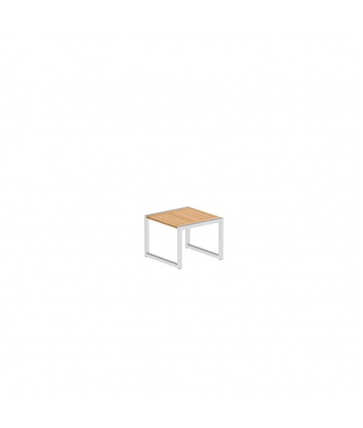 NINIX SIDE TABLE 50X50CM WITH STAINLESS ...