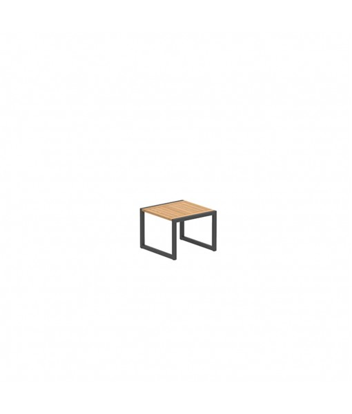 NINIX SIDE TABLE 50X50CM ANTHRACITE FRAME ...