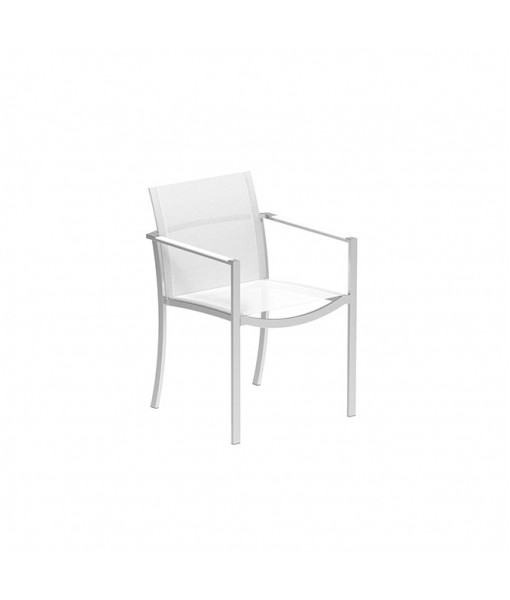 OZON STACKABLE CHAIR STAINLESS STEEL AND ...