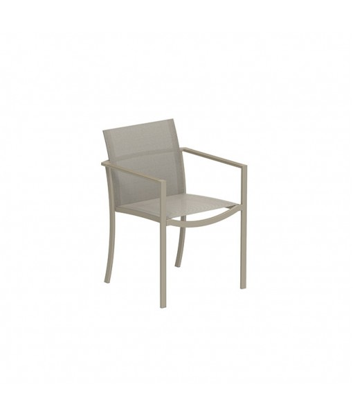 OZON STACKABLE CHAIR ALU SAND AND ...