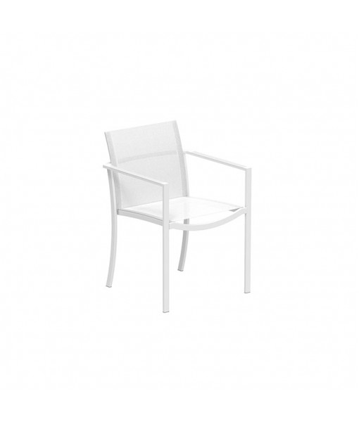 OZON STACKABLE CHAIR WHITE AND WHITE ...