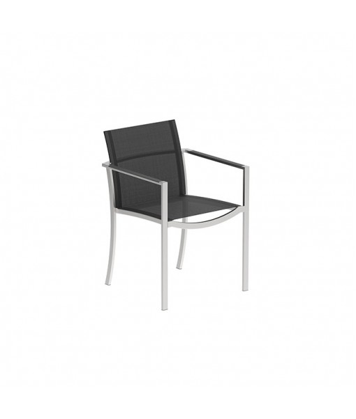 OZON STACKABLE CHAIR WITH INOX FRAME ...