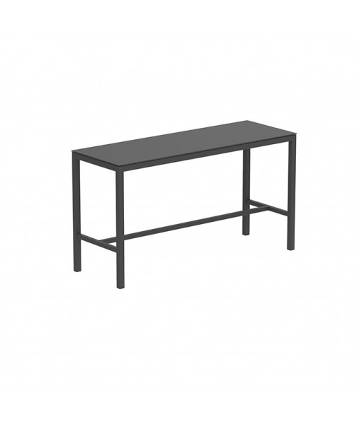 TABOELA HIGH TABLE 200X70CM ANTHRACITE WITH ...