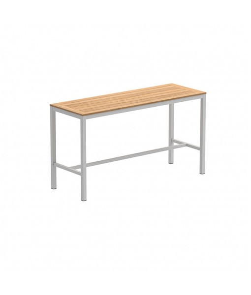 TABOELA HIGH TABLE 200X70CM WHITE WITH ...