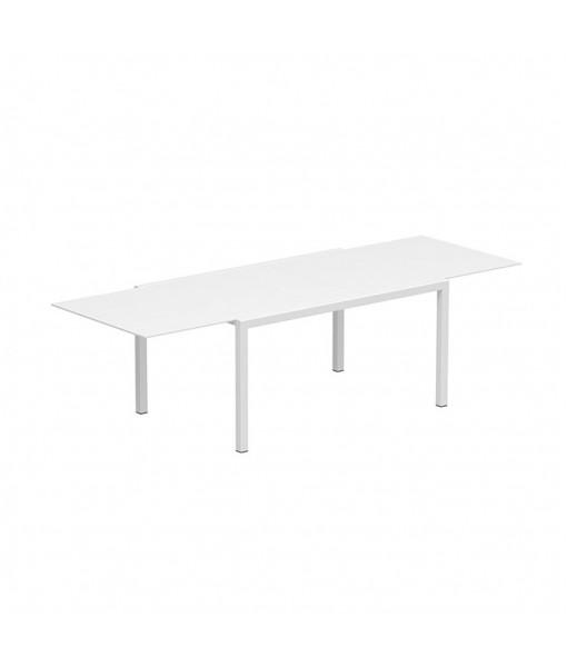 TABOELA EXTENDABLE TABLE 100x150/270 WHITE + ...