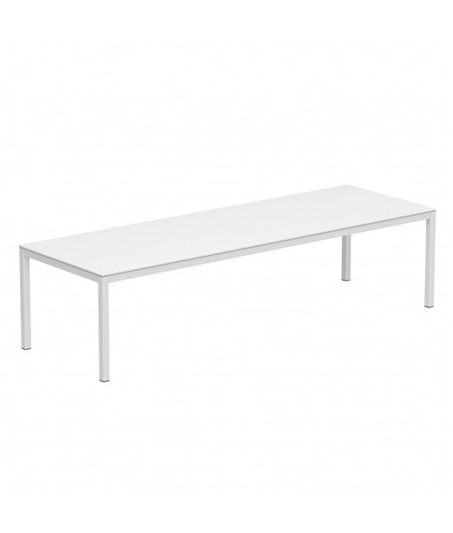 TABOELA TABLE 300X100CM WHITE WITH TOP ...
