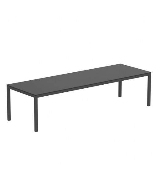 TABOELA TABLE 300X100CM ANTHRACITE WITH TOP ...