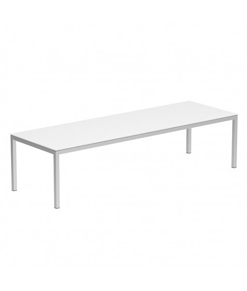 TABOELA TABLE 300X100CM WITH TOP GLASS ...