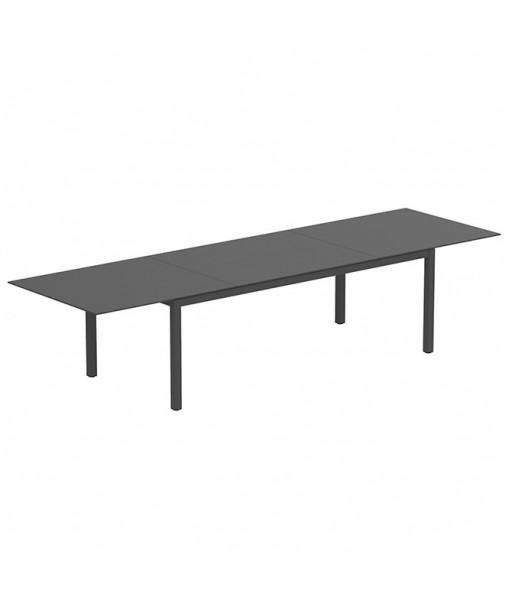 TABOELA EXTENDABLE TABLE 100X220/340CM ANTHRACITE + ...
