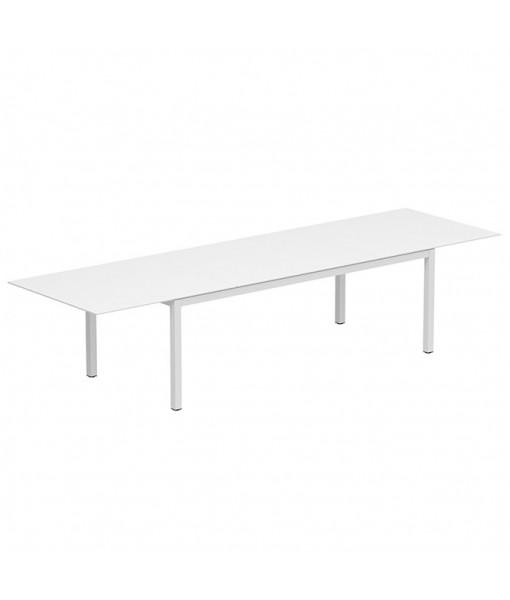 TABOELA EXTENDABLE TABLE 100X220/340CM WHITE + ...