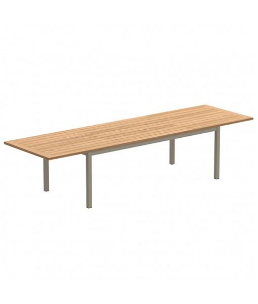 TABOELA EXTENDABLE TABLE 100X220/340CM SAND WITH ...