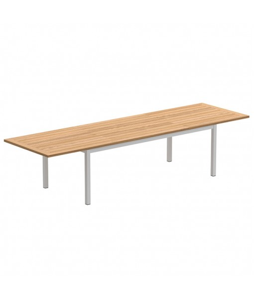 TABOELA EXTENDABLE TABLE 100X220/340CM WHITE WITH ...