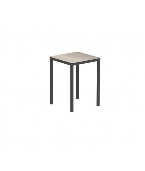 TABOELA HIGH TABLE 80X80CM ANTHRACITE + ...