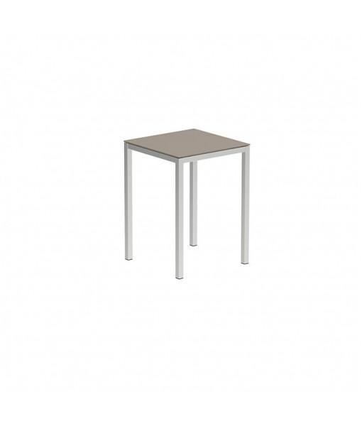 TABOELA HIGH TABLE 80X80CM WITH GLASS ...