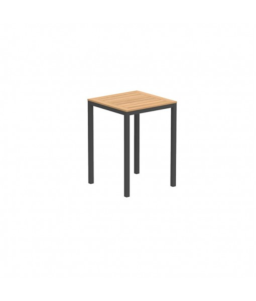 TABOELA HIGH TABLE 80X80CM ANTHRACITE WITH ...