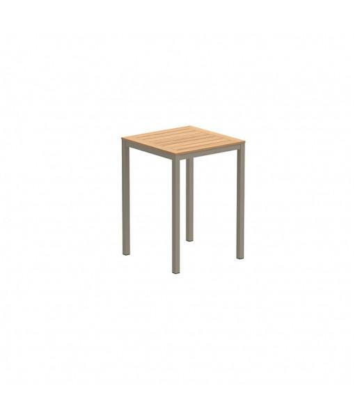 TABOELA HIGH TABLE 80X80CM SAND WITH ...