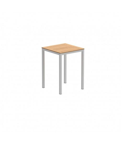 TABOELA HIGH TABLE 80X80CM WHITE WITH ...