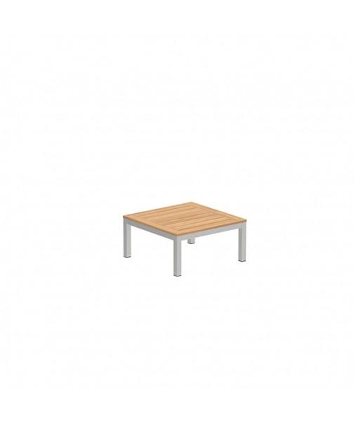 TABOELA LOW TABLE 80X80CM WITH TEAK ...