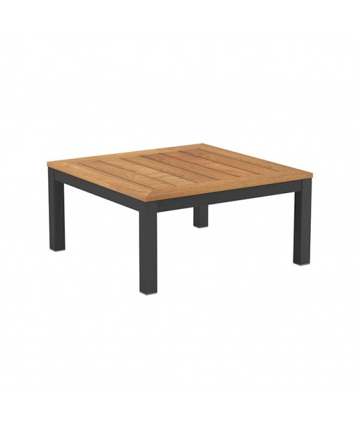 TABOELA LOW TABLE 80X80CM ANTHRACITE WITH ...