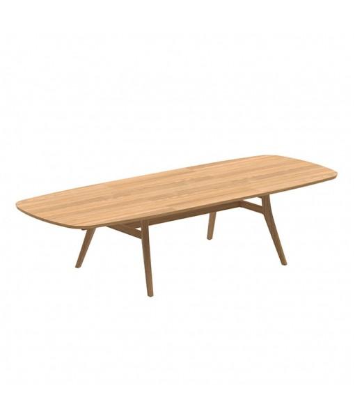 ZIDIZ EXTENDABLE TABLE 120-220/320CM TEAK LEGS ...